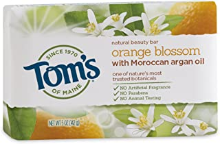 product image for Tom's of Maine, Natural Bar Soap - Orange Blossom with Moroccan Argan Oil, 5 Ounce