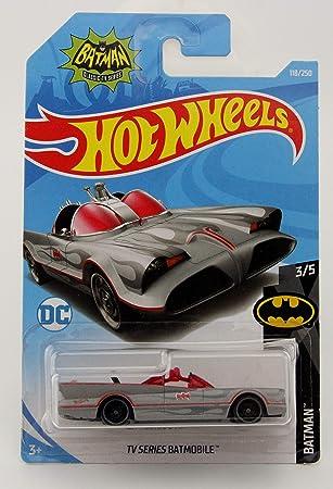 NEU 2018 ! Batman Short Card TV Series Batmobile Hot Wheels FKB53