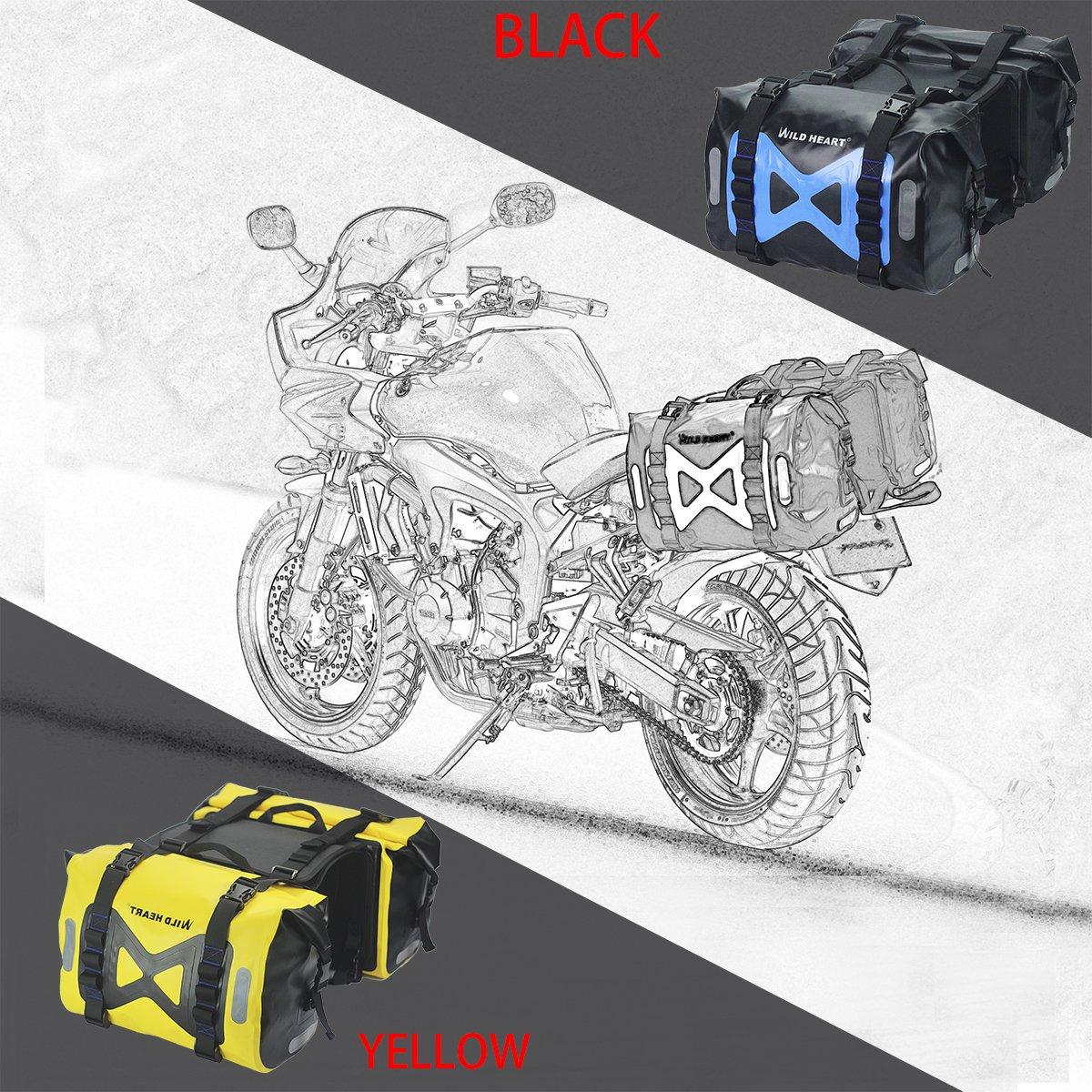 Amazon.com: WILD HEART Bolsa impermeable para motocicleta ...