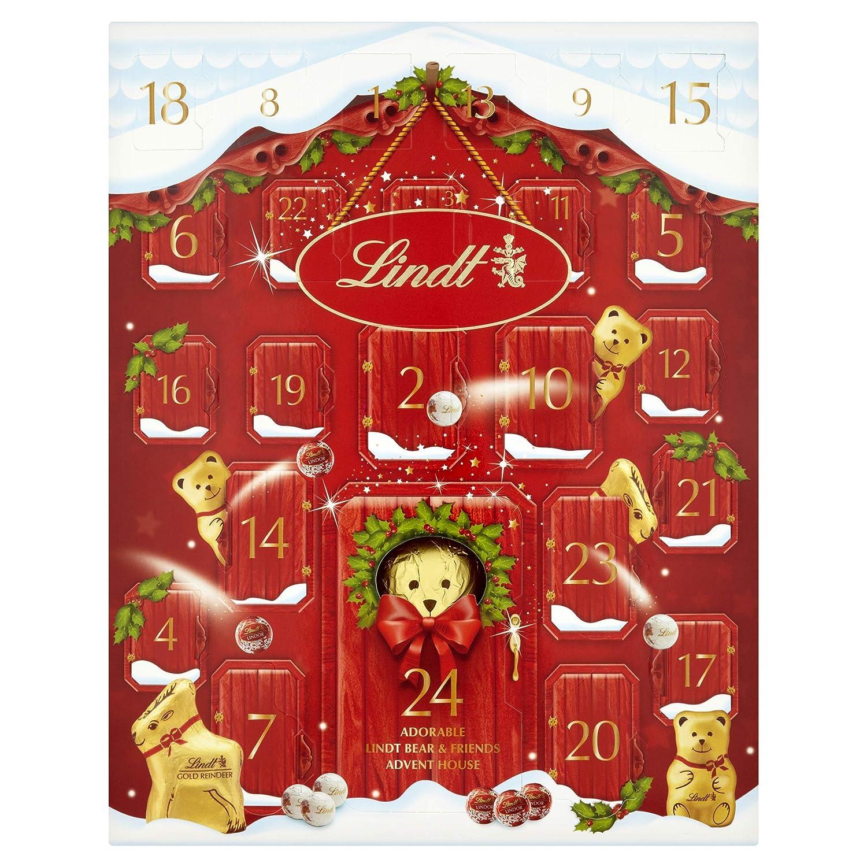 Lindt Bear Advent Calendar 250g リンツ くまさん アドベント カレンダー 250g 海外直送 並行輸入   B0152SYV40