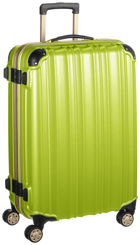 (ビータス) Beatas スーツケース TSAロック軽量アルミフレーム ビータスBH-F2000【一年修理保証】SUITCASE B00PV8CB58 L|エンボスグリーン エンボスグリーン L