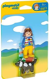 Playmobil 1.2.3 - 1.2.3 Mujer con Perro (6977)