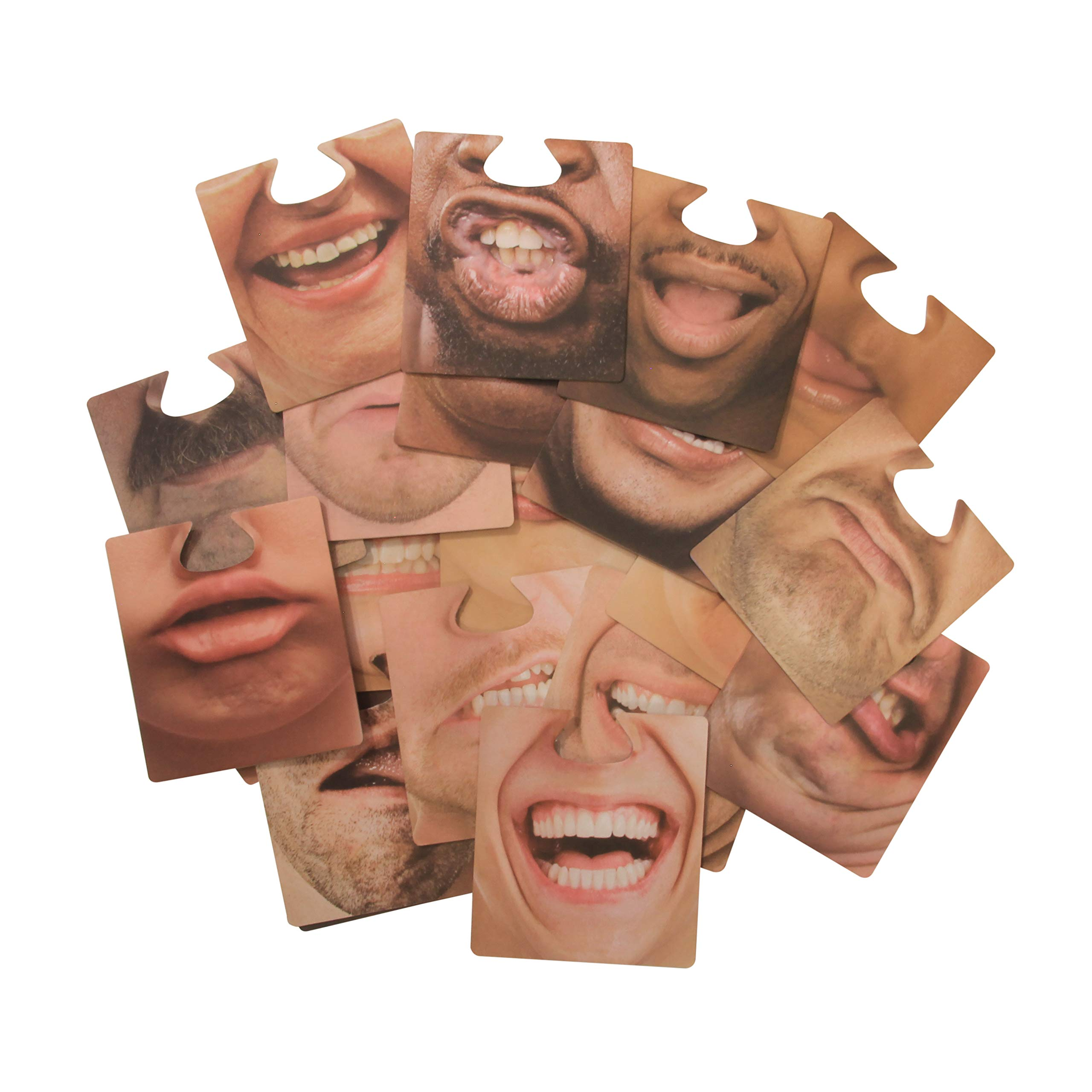 Party Face Coasters - Party Pack