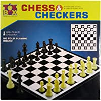 Toys Box Chess and Checkers - No Fold, 1 Number Pack