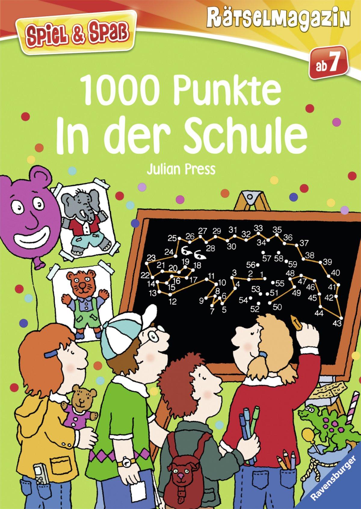 1000 Punkte: In der Schule (Spiel & Spaß - Rätselmagazin)