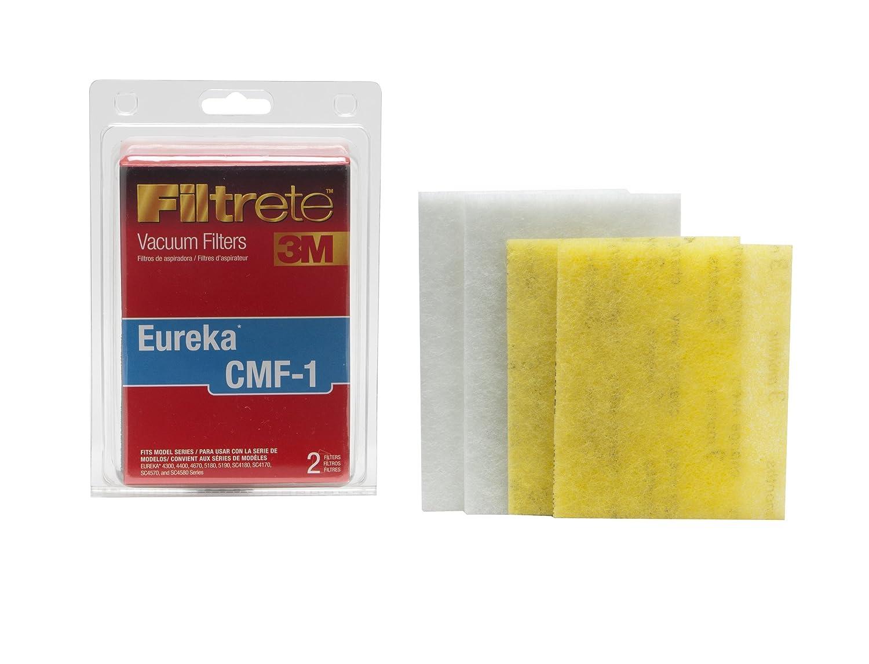 3M Filtrete Eureka CMF-1 Allergen Vacuum Filter, 2 Pack