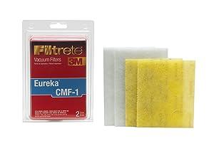 3M Filtrete Eureka CMF-1 Allergen Vacuum Filter Red