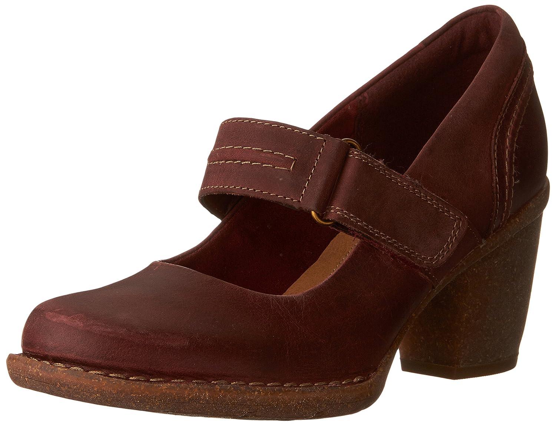 Clarks Women's Carleta Prato Pumps Shoes B0195SLFWE 12 B(M) US|Wine