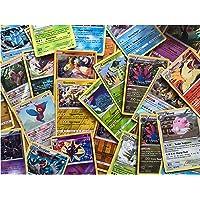 75 willekeurige Pokémon-kaarten met zeldzame en glanzende kaarten.