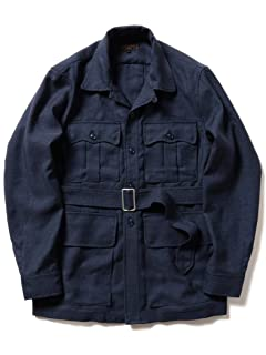 Beams Plus Military Tropical Jacket 11-18-4452-139: Navy
