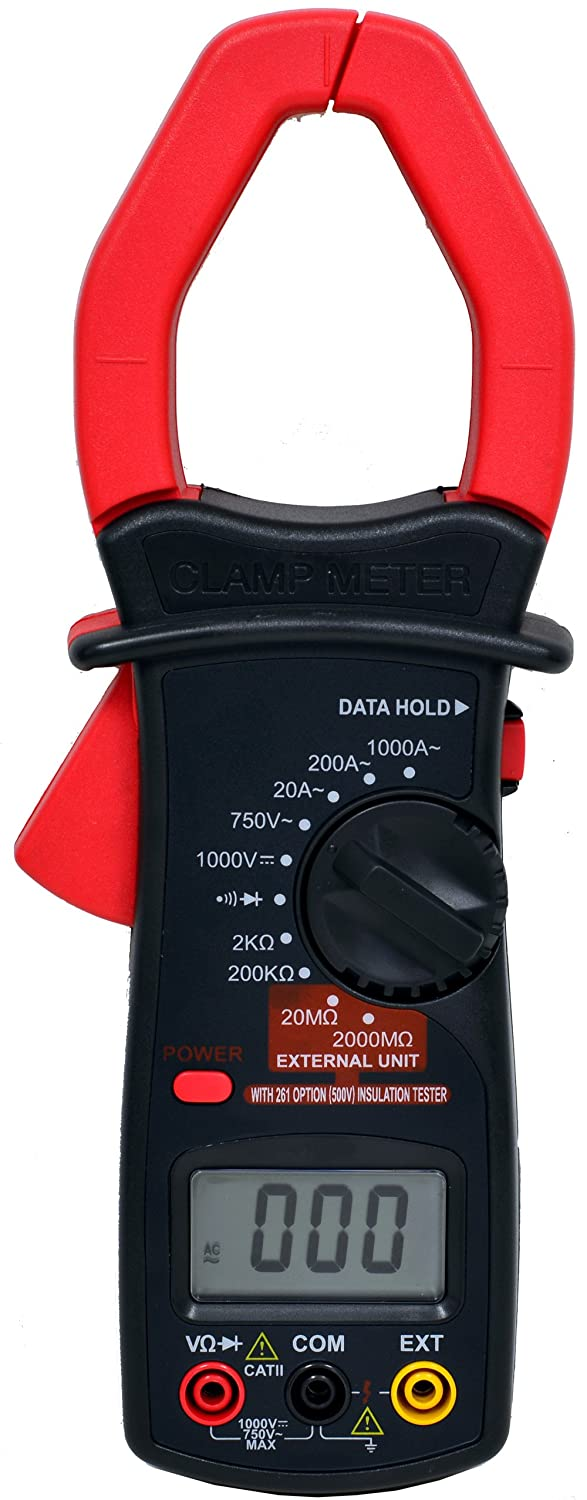 Can A Clamp Meter Measure Amps : Tekpower mt digital ac amp clamp on meter with