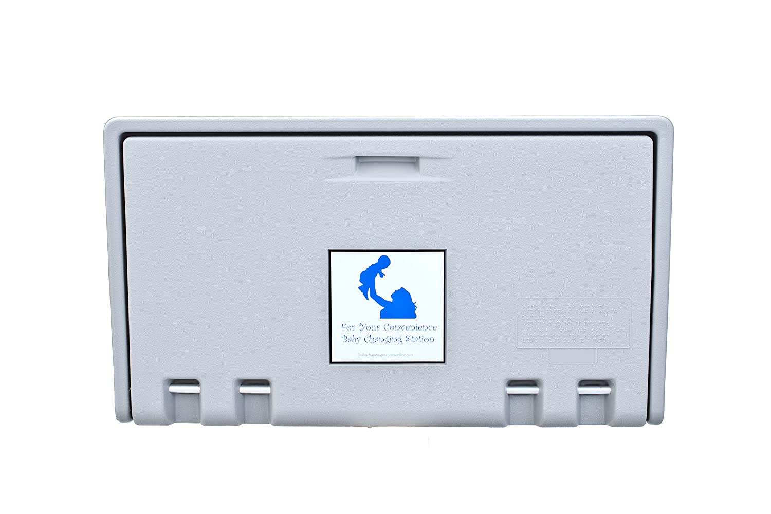AHD100-01 Grey Horizontal Baby Changing Station