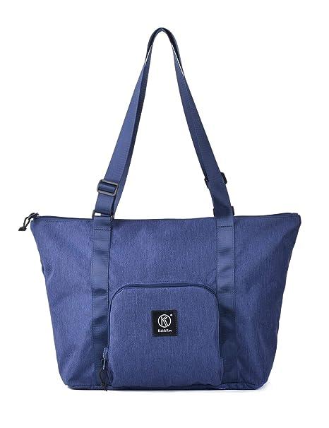 Kah&Kee - Bolsa de Viaje Mujer, Azul Marino (Azul) - ZIPTOTE ...