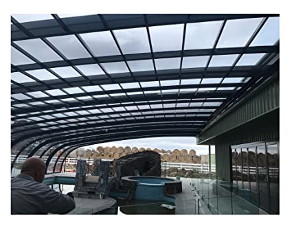 ClearYup Outdoor Screen Room For Pools Patio Aluminum Screen Enclosure  Screen Porch Enclosures Retractable Sliding Custom