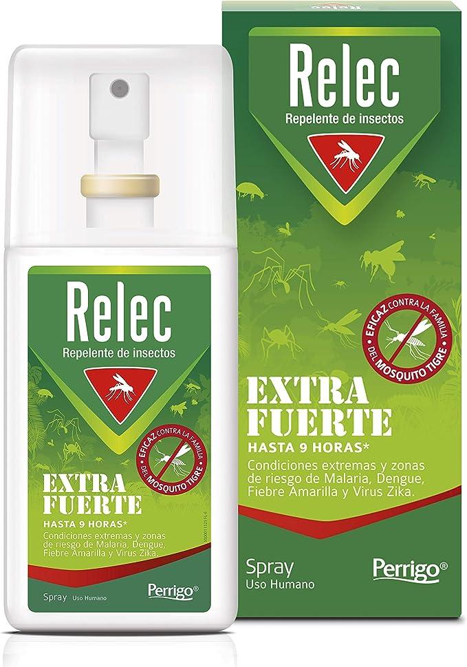 Relec Extra Fuerte Spray Antimosquitos | Repelente de Mosquitos ...
