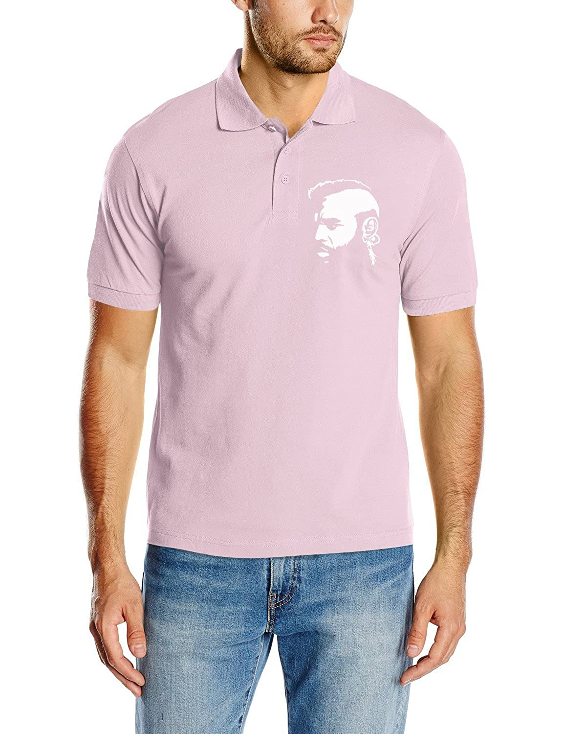 Touchlines Herren Fashion Poloshirt Clubber - Mr. T vom A-Team, D2019 pink S