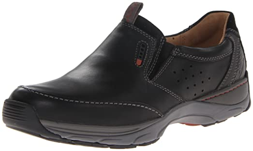 Clarks Men's Skyward Free Slip-On Loafer,Black Leather,13 ...