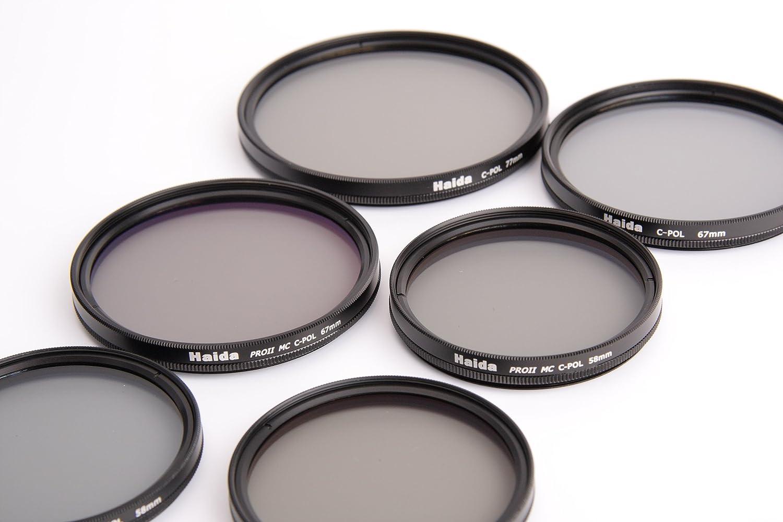 multicoating 37 mm Haida Pro II digital Slim polarizador filtro de polarización mc