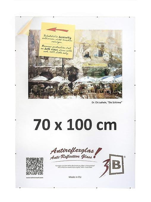 3b Cornice A Giorno Clip 70x100 Cm Portafoto Senza Cornice Con