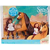 Just Play Spirit Riding Free Small Doll & Collector Lucky Horse Set, Multicolor