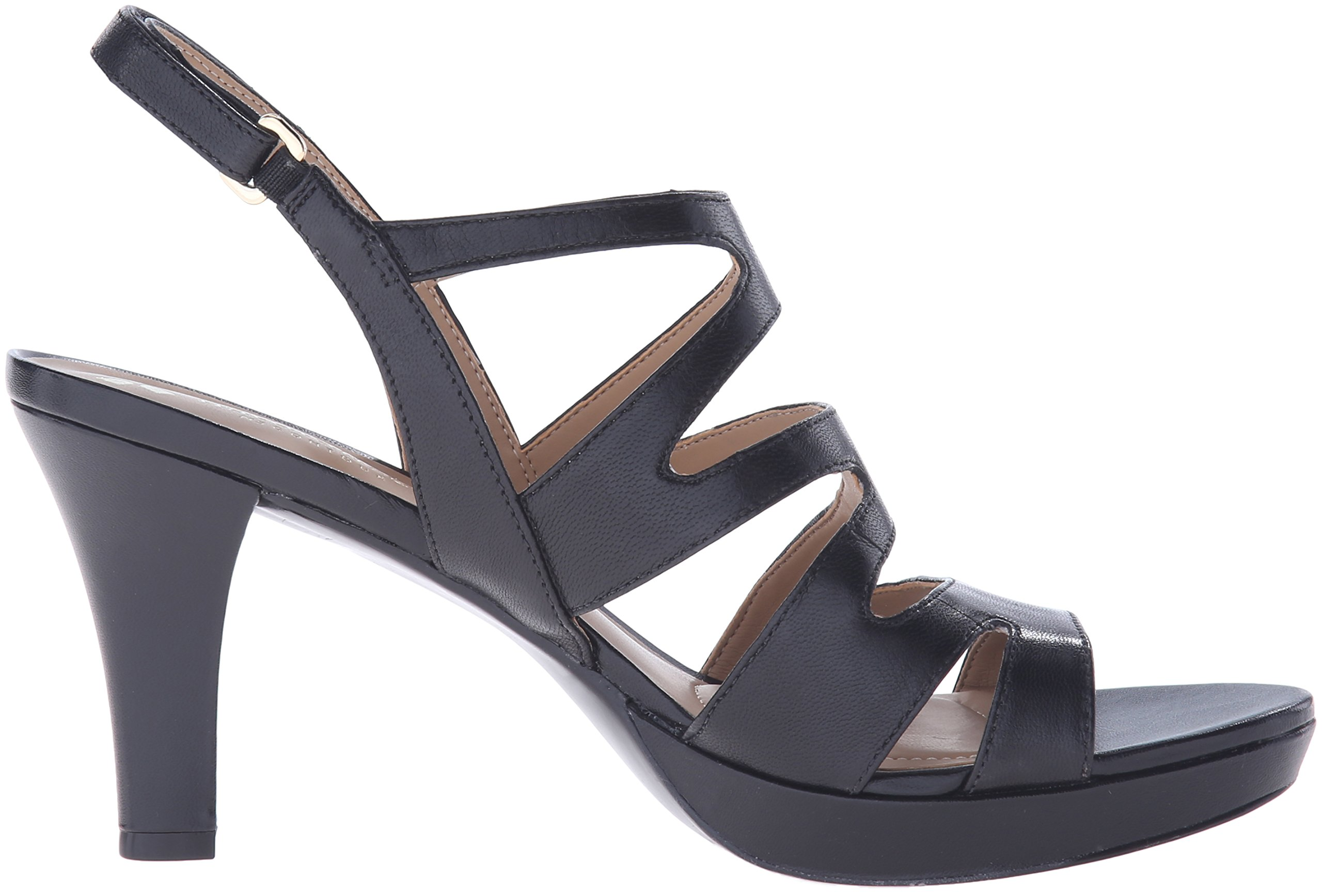 Naturalizer Women's Pressley Platform Dress Sandal, Black, 7 W US by Naturalizer (Image #7)