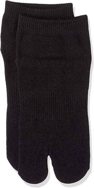 Japanese Black Tabi Ninja Slip Proof Socks - For Adult & Kids Shoes & Sandals