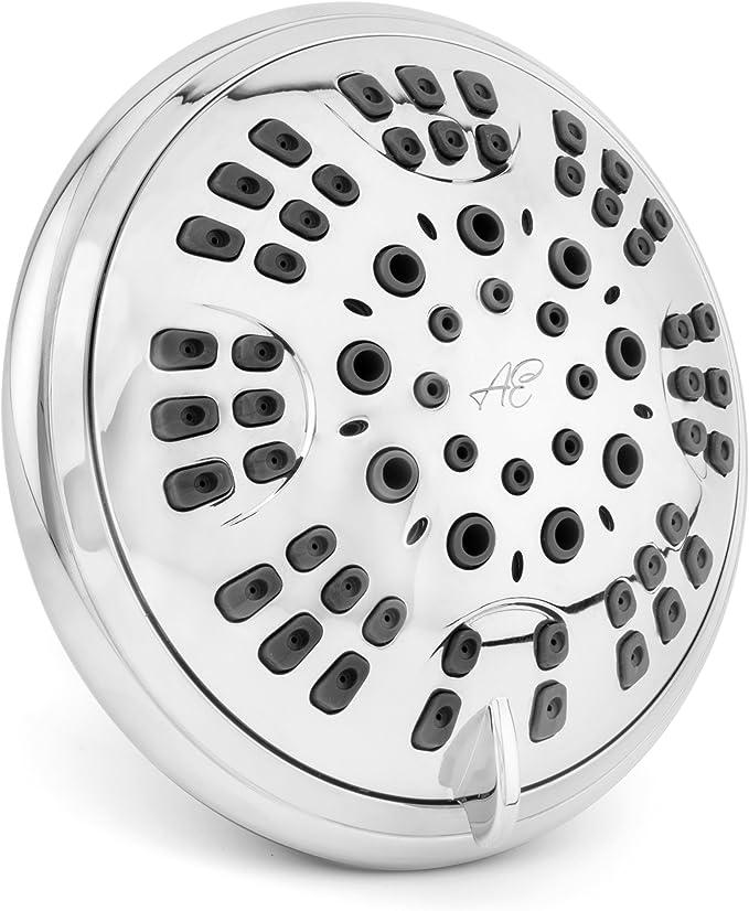 Best Low Flow Shower Head: Aqua Elegante 6 Function Showerhead