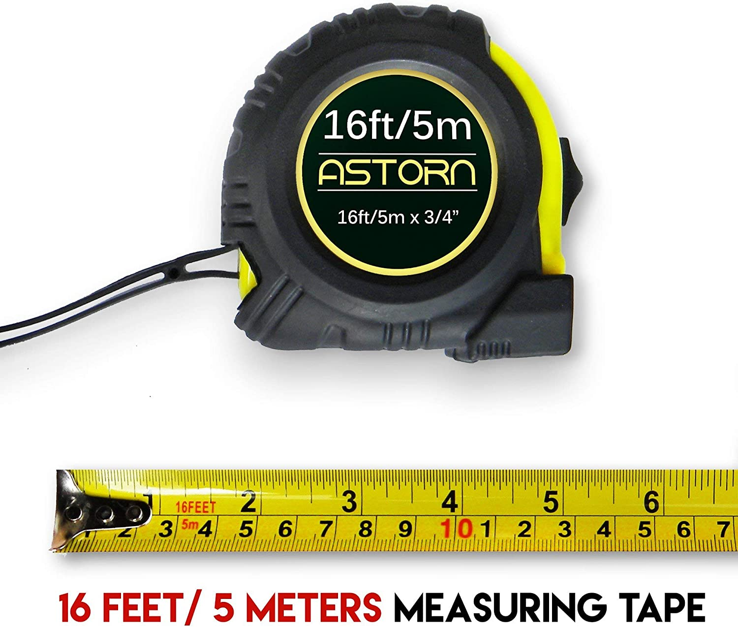 Save 15/% on your purchase. Measuring Tap For Contractors /& DIY | Tape Measurer Cinta Metrica Astorn Tool Set of 2 + Multi-Angle Measuring Ruler | Right Angle Measurement Tool