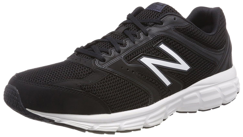 New Balance 460v2, Zapatillas de Running para Hombre 44 EU Negro (Black/White Cb2)