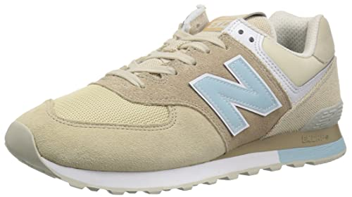 New Balance Ml574v2, Sneaker Uomo, Beige/Blu (Beige/Blue), 41.5 EU