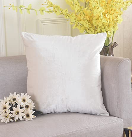 home brilliant deluxe velvet decorative square throw pillow cover fall cushion cover for sectional sofa