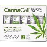 Andalou Naturals CannaCell Botanical Get Started Kit, 5 Count