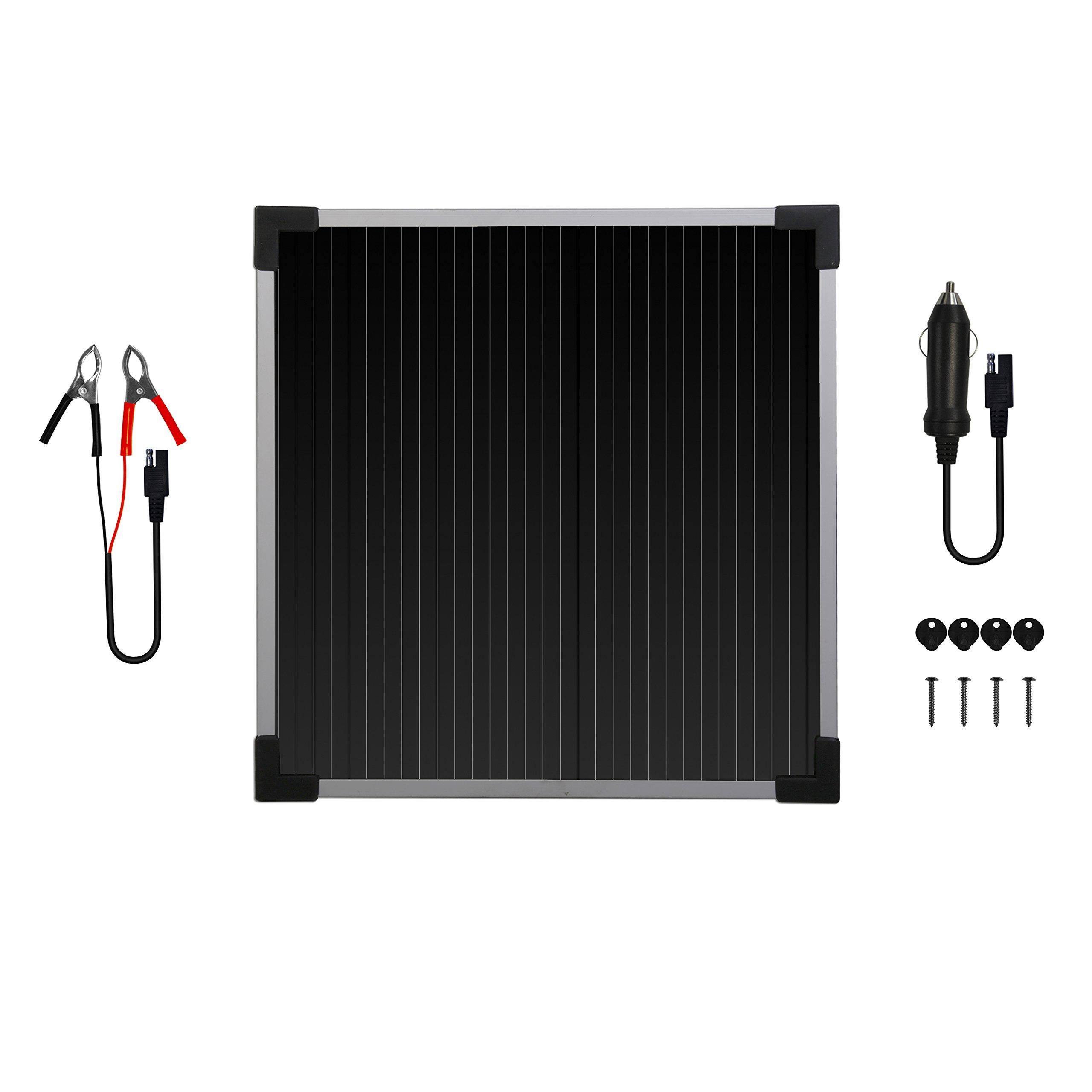 Sunforce 50022 5-Watt Solar Battery Trickle Charger by Sunforce (Image #2)