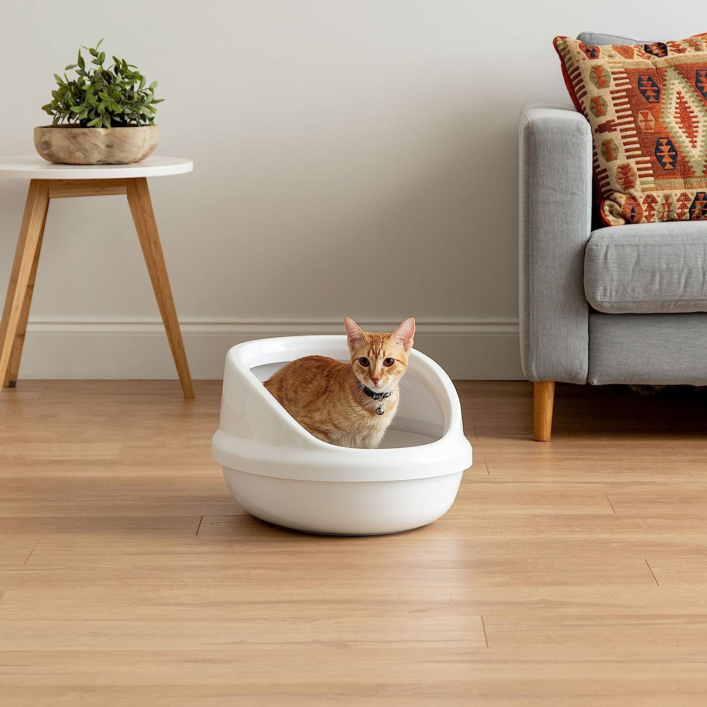 Iris Cat Toilet Grey
