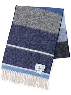 Wool Angora Scarf 118-36-0034: Blue