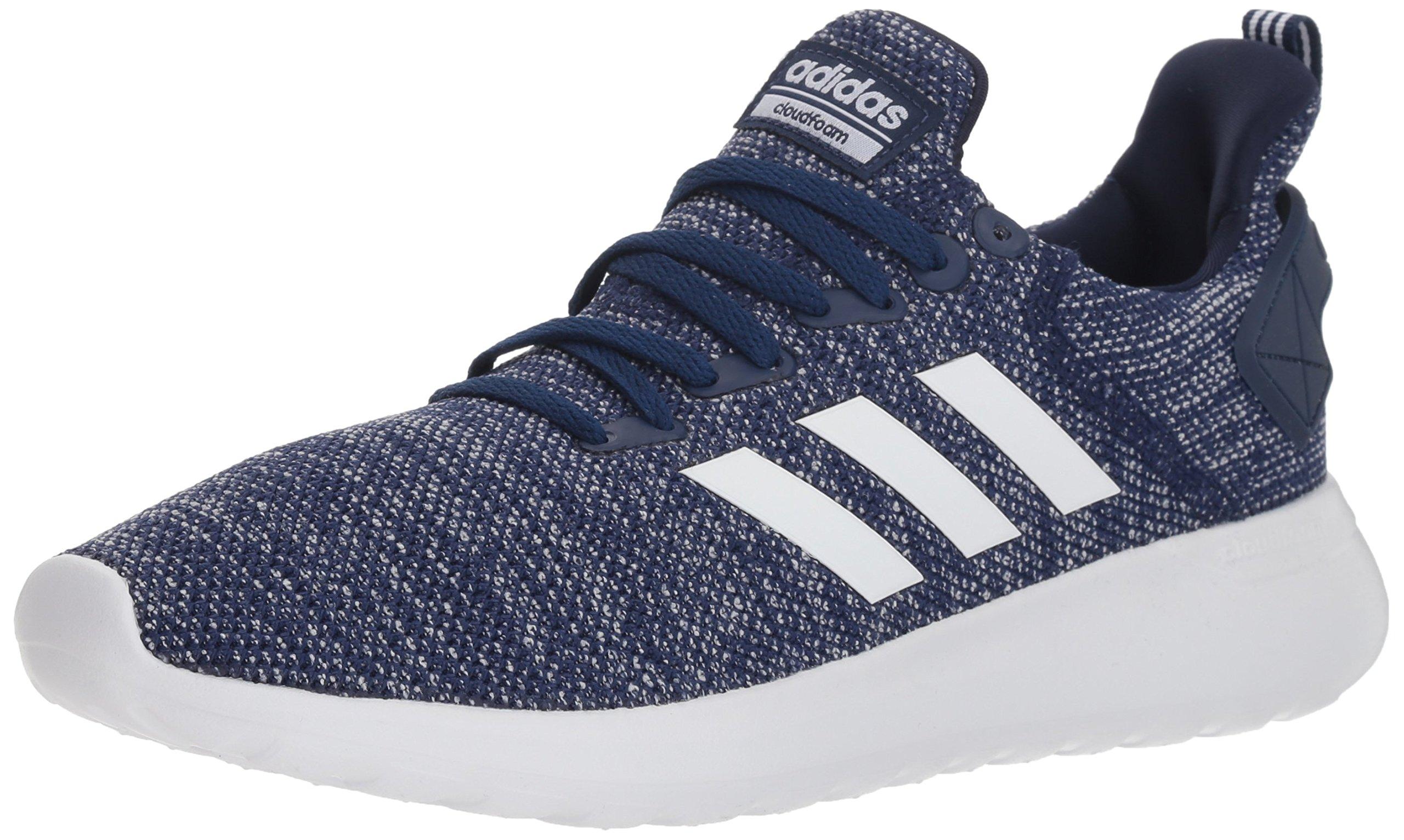 adidas Men's Lite Racer BYD Running Shoe, Dark Blue/White/White, 9 M US by adidas