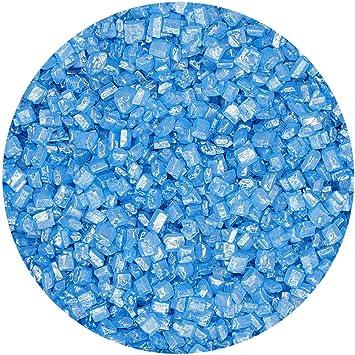 Natural azul tuercas leche de soja Gluten OMG libre Shimmer brillante azúcar