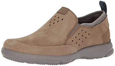 Rockport Men's TruFlex Slip On Sneaker, Taupe, ...