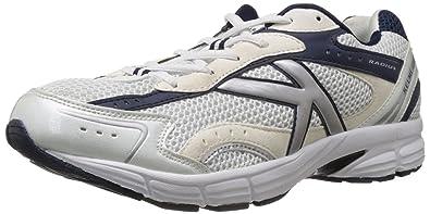 792ea8607 Kelme Men s Radius White and Navy Mesh Running Shoes - 11 UK (146765171)