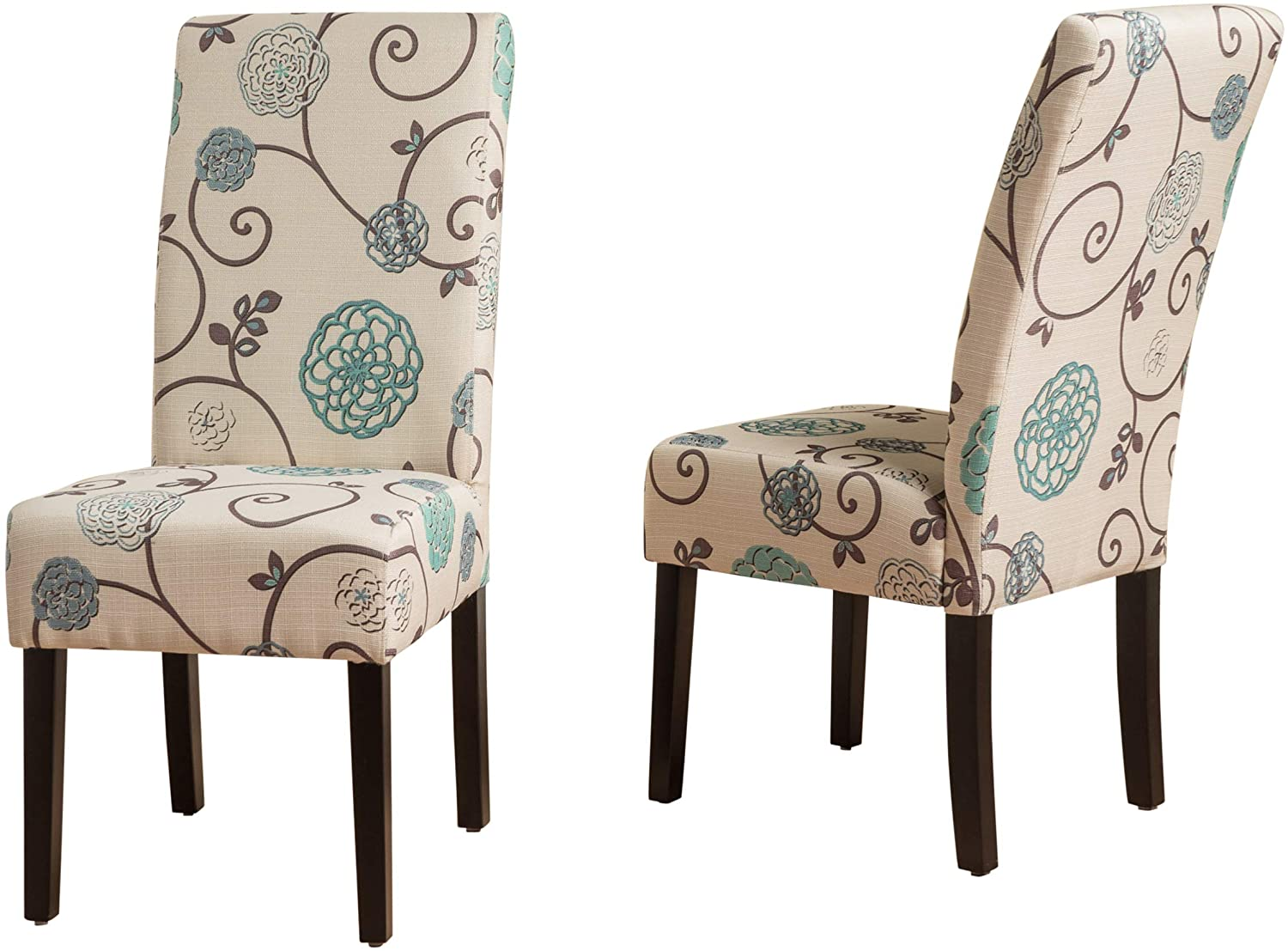 Christopher Knight Home Pertica Fabric Parsons Accent Dining Chair