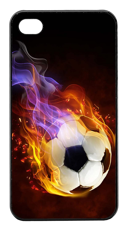 BLACKASE Carcasa para iPhone 4/4S - Sport de balón de fútbol en ...