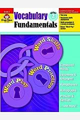 Vocabulary Fundamentals, Grade 2 Paperback
