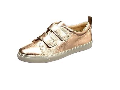 Clarks Glove Daisy, Zapatillas para Mujer, Dorado (Rose Gold), 42 EU