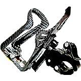 【筒助くん】 保温水筒 対応ドリンクホルダー 着脱簡単! 水分補給 ダイエット アジャスタブルタイプ ママチャリ ベビーカー スクーター バイクに!