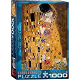 "Klimt - The Kiss (der Kuss) Jigsaw Puzzle 1000 Pieces 19.25""X26.5"" EUROPZ-4365"