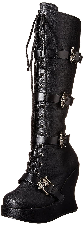 Demonia Bravo-109, Bottes Noir Hautes Classiques (Blk Non B001949G88 Doublées Femme Noir (Blk Vegan Leather)) 34647fc - latesttechnology.space