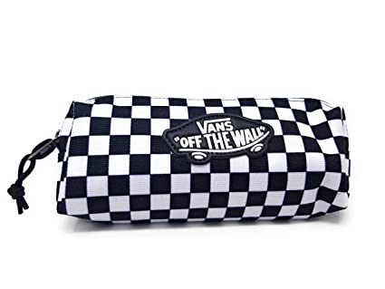 Amazon.com: Vans Pencil Pouch (Black/White Checkered): Arts ...