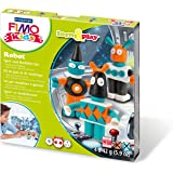 Fimo 7-Parts Kids Form and Play Robot Modelling Set, Multi-Colour