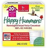 EZNectar All-Natural Hummingbird Nectar Concentrate Powder, 7.3 Ounce (makes 32 FL OZ)