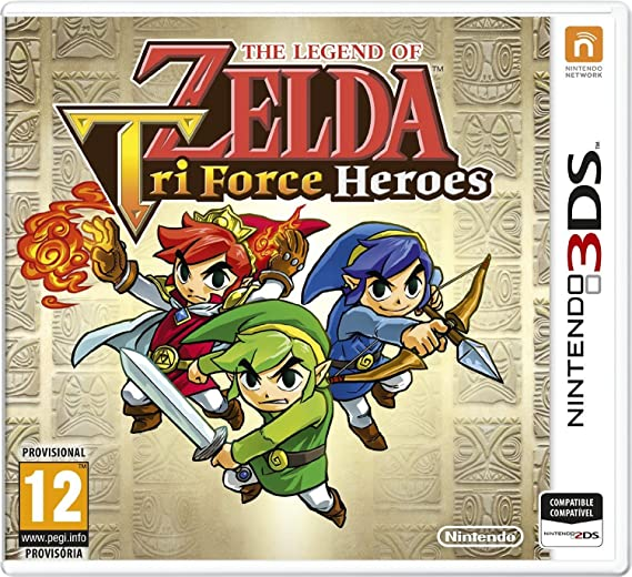 The Legend Of Zelda: Tri Force Heroes: Amazon.es: Videojuegos